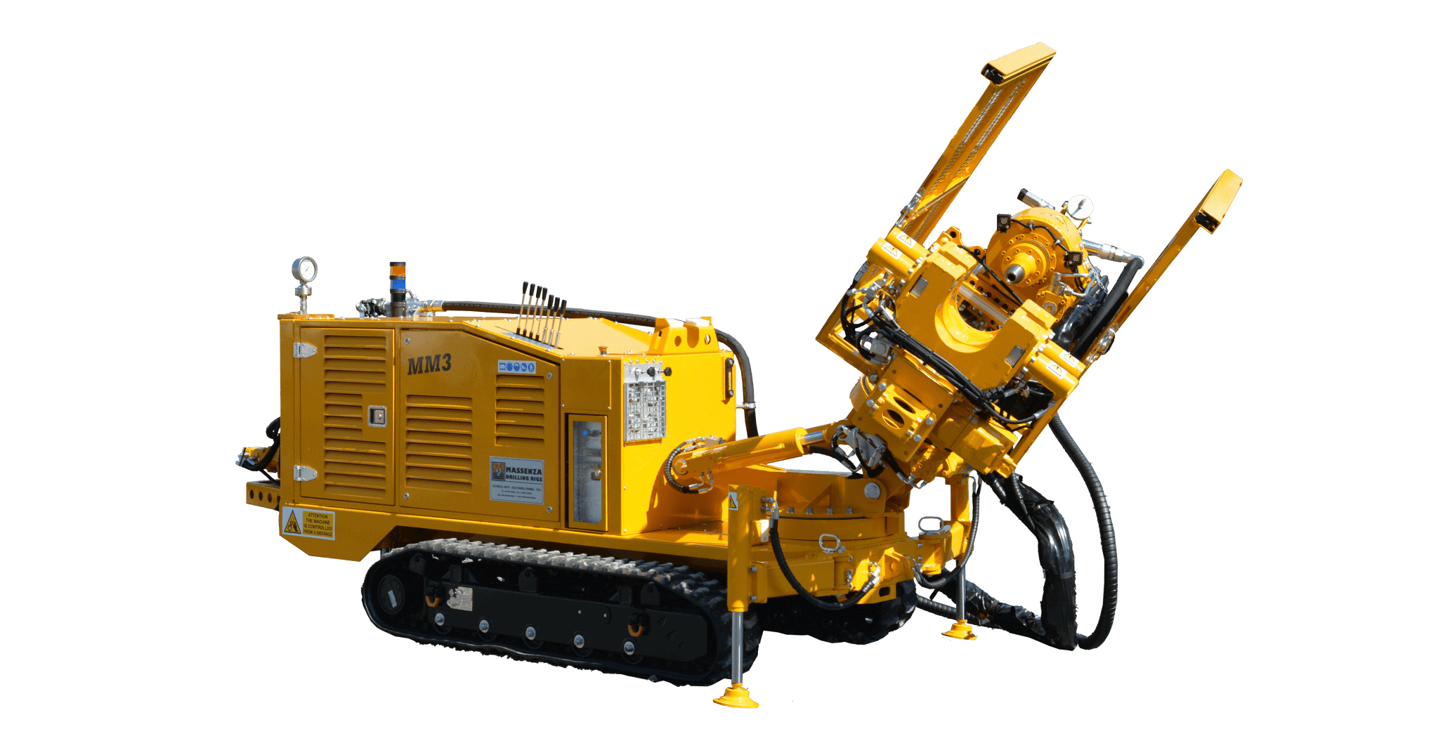 MM3_Drilling rig-Foreuse